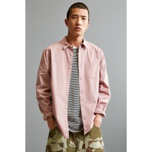 UO Stevens Poplin Button-Down Shirt | Urban Outfitters