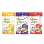 Happy Baby Organic Yogis Freeze Dried Yogurt and Fruit Snack 6 Piece Variety Pack