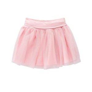 Girls Petal Pink Tutu Skirt by Gymboree