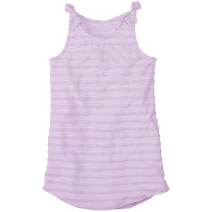Girls Soft Stripes Cover-Up In French Terry | Sale 20% Off Swimwear Girls