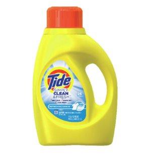 $2Tide 40-fl oz Refreshing Breeze High-Efficiency Laundry Detergent
