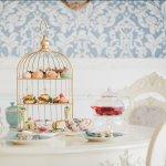 英伦复古风公主系下午茶&咖啡厅,精致下午茶、甜点,满满的少女心公主风