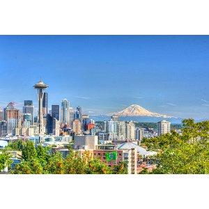 【西雅图】超值精华1天:波音工厂+派克市场+太空针+奇胡利