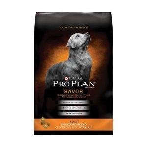 Purina® Pro Plan® Shredded Blend Adult Dog Food - Chicken & Rice