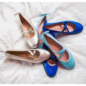 Stuart Weitzman - Bolshoi Suede Ballet Flats