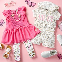 Up To 70% OffJuicy Couture Baby To Big Girl Apparel Sale @ Zulily