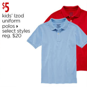 Izod Exclusive Shirts + Tops School Uniforms for Kids - JCPenney