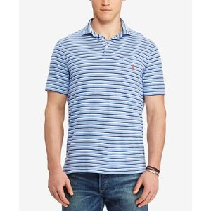 Polo Ralph Lauren Men's Big & Tall Classic-Fit Striped Cotton Polo - Polos - Men - Macy's