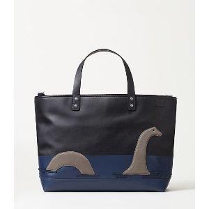 Dipped Leather Loch Ness Coal Bag - JackSpade