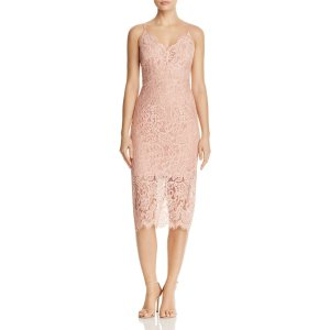 Bardot Midi Lace Dress | Bloomingdale's