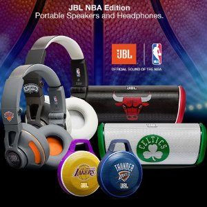 from $19.99JBL Clip NBA Edition, Ultra-Portable Bluetooth Speaker Hot Sale