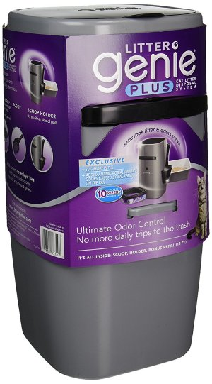 $11.24Litter Genie Plus Cat Litter Disposal System with Odor Free Pail System