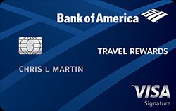 20,000 Online Bonus Points After Required Spend Bank of America® Travel Rewards Credit Card