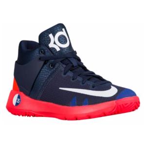 Nike KD Trey 5 IV - Boys' Preschool - Basketball - Shoes - Durant, Kevin - Obsidian/White/Bright Crimson/Deep Royal