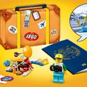 Ending Soon! Free Minifigure Travel SetWith $35+ Purchase @ LEGO®