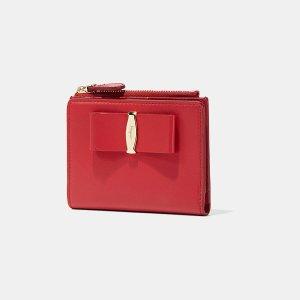 Salvatore Ferragamo Vara Lux Mini Wallet Small Leather Goods | ELEVTD Free Shipping & Returns