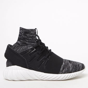 adidas Tubular Doom Primeknit Black & White Shoes at PacSun.com