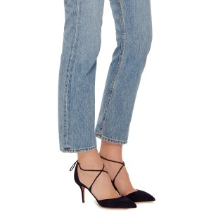 Matilde Suede Pumps by Aquazzura