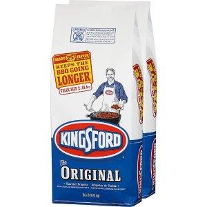 Kingsford 18.6 lb. Charcoal Briquettes (2-Bag)-4460031239 - The Home Depot
