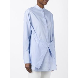 Ports 1961 Band Collar Shirt - Farfetch