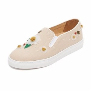 Charlotte Olympia Floral Alex Slip On Sneakers | SHOPBOP