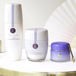 Free $40 Off $120, $25 Off $75Voucher +  Free Gift with Tatcha Purchase @ Gilt City