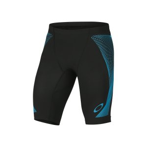 Oakley Switch Blade LX Compression Shorts in JET BLACK