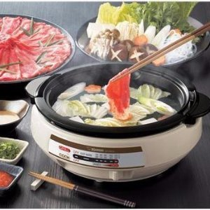 12% Off All Snacks & Food, ZOJIRUSHI Gourmet Expert Electric Skillet for $65 @ Yamibuy