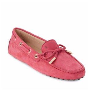 Tod's - Leather Moc-Toe Boat Shoes - saksoff5th.com