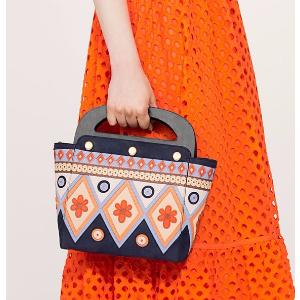 Tory Burch Appliqué Bermuda Bag : Women's Clutches & Evening Bags