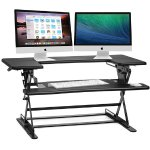 Halter ED-600 Height Adjustable Desk Sit / Stand Desktop