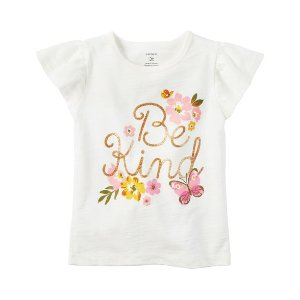 Flutter-Sleeve Be Kind Graphic Tee