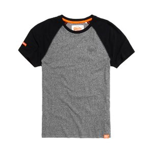Superdry Orange Label Baseball Grit T-shirt - Men's T Shirts