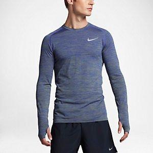 Nike Dry Knit Men's Long Sleeve Running Top.