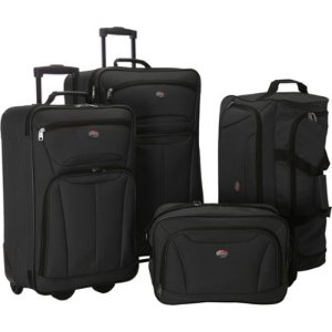 American Tourister Fieldbrook II 4 Pc Nested Luggage Luggage Set NEW | eBay