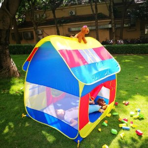$18.04Kids Play Tents Indoor and Outdoor Pop Up Playhouse for Children
