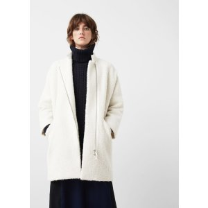 Unstructured wool-blend coat - Women | OUTLET USA
