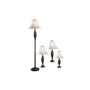Caron Lamp Set (Set of 4)   Ashley Furniture HomeStore