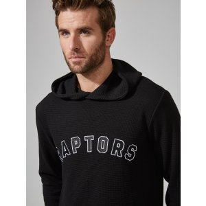 Toronto Raptors Waffle-Knit Pullover Hoodie | Frank And Oak