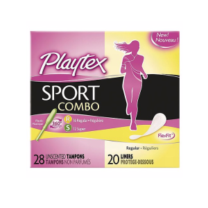 Playtex Sport Tampons And Liners Set, Very Light, 48 Ct  by Playtex