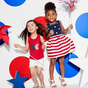 Today Only!  80% Off + Free ShippingAll Kids Apparel Clearance @ Children's Place