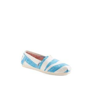TOMS | Classic Stripes Slip-On Flat | HauteLook