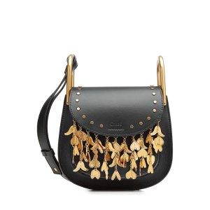 Embellished Leather Shoulder Bag - Chloé