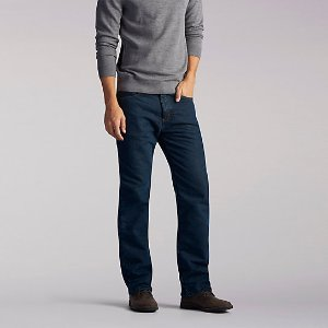 Fleece Lined Straight Leg Jeans | Lee