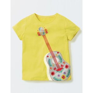 Fun Appliqué T-shirt 30146 Graphic T-Shirts at Boden