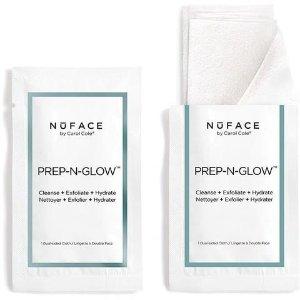 NuFACE Prep-N-Glow Cloths   askderm