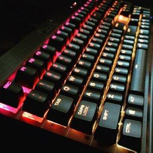 $79.99Refurbished Corsair Gaming K70 RGB Mechanical Gaming Keyboard - Cherry MX Brown