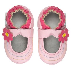 Momo Baby Rainbow Toes Mary Jane Girls Crib Shoes-Baby - JCPenney