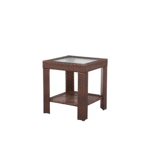 Hampton Bay Beverly Patio Accent Table-65-9102337 - The Home Depot