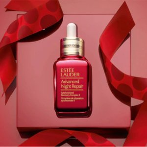 $99 (价值$120)黒五价:Estee Lauder 红瓶限量版ANR精华 优惠特卖